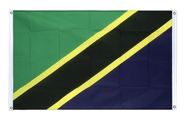 Tanzania Banner Flag 3x5 ft, landscape