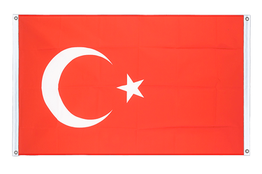 Turkey Banner Flag 3x5 ft, landscape