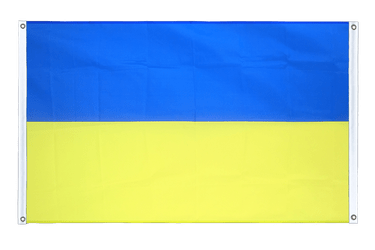 Ukraine Banner Flag 3x5 ft, landscape