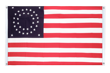 USA 35 Sterne Betsy Ross 1867-1877