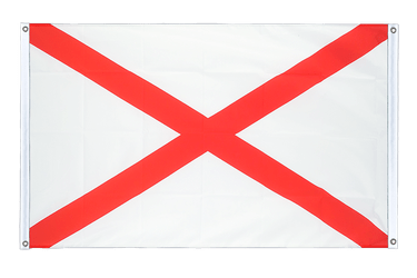 Alabama Banner Flag 3x5 ft, landscape