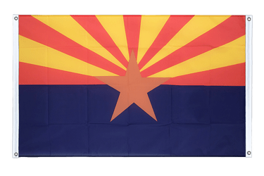 Arizona Banner Flag 3x5 ft, landscape