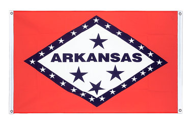 Arkansas Banner Flag 3x5 ft, landscape
