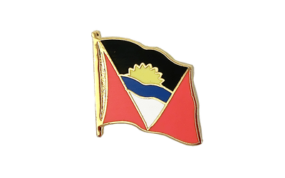 Antigua und Barbuda Flaggen Pin 2 x 2 cm