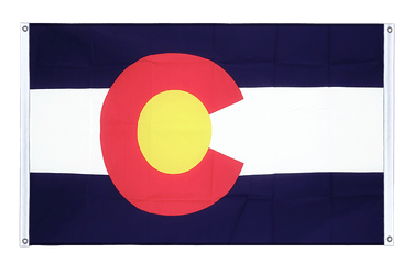 Colorado - Banner Flag 3x5 ft, landscape