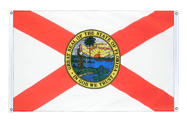 Florida Banner Flag 3x5 ft, landscape