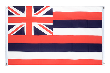 Hawaii Banner Flag 3x5 ft, landscape