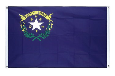 Nevada Banner Flag 3x5 ft, landscape