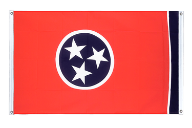 Tennessee - Banner Flag 3x5 ft, landscape