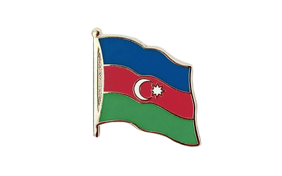 Azerbaijan - Flag Lapel Pin