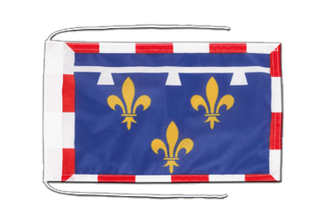 Centre Flag with ropes 8x12""