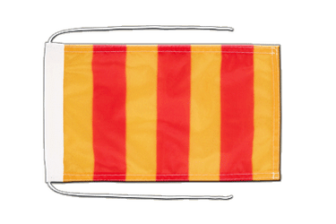 County of Foix Flag with ropes 8x12""