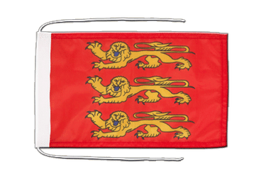 Upper Normandy - Flag with ropes 8x12""