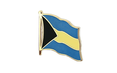 Bahamas - Flag Lapel Pin