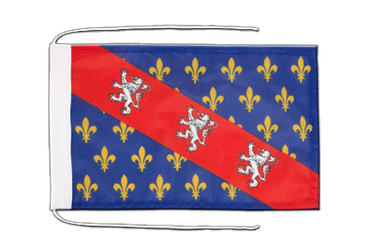 County of La Marche Flag with ropes 8x12""