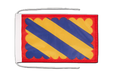 Nivernais Flag with ropes 8x12""