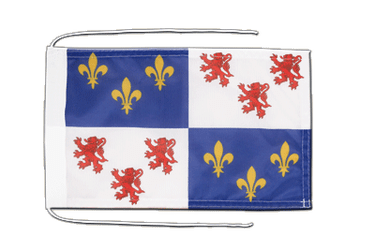 Picardie - Flag with ropes 8x12""