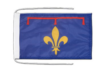 Provence Flag with ropes 8x12""