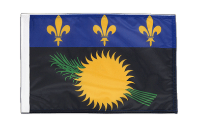 Guadeloupe 12x18 in Flag