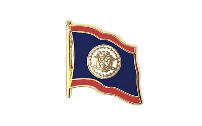 Belize Flag Lapel Pin