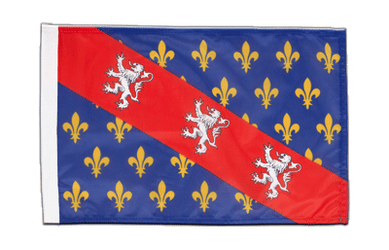 County of La Marche 12x18 in Flag