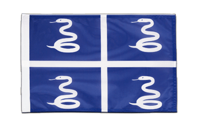 Martinique - 12x18 in Flag