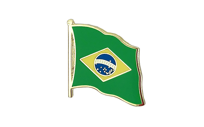 Brazil Flag Lapel Pin