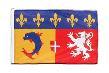 Rhône-Alpes Sleeved Flag PRO 2x3 ft