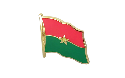 Burkina Faso Flag Lapel Pin