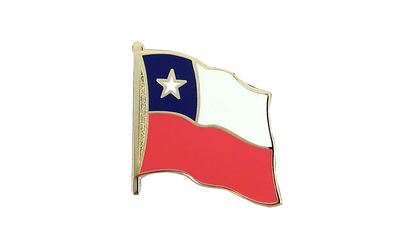Chile Flaggen Pin 2 x 2 cm