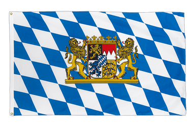Bavaria lion - Premium Flag 3x5 ft CV
