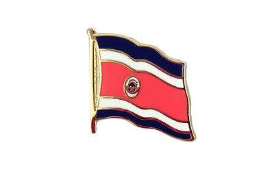 Costa Rica Flaggen Pin 2 x 2 cm