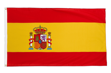 Spain with crest Premium Flag 3x5 ft CV
