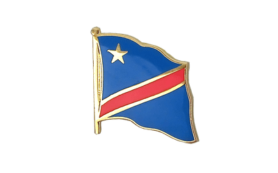 Democratic Republic of the Congo - Flag Lapel Pin