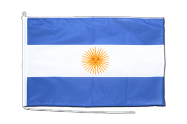 Argentinien Bootsflagge PRO 60 x 90 cm
