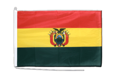 Bolivien Bootsflagge PRO 60 x 90 cm