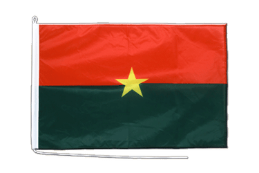 Burkina Faso  Boat Flag PRO 2x3 ft