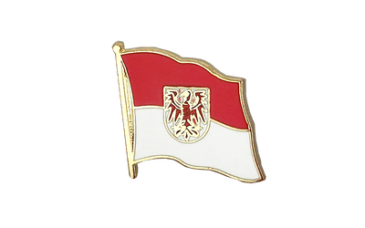 Brandenburg Flag Lapel Pin
