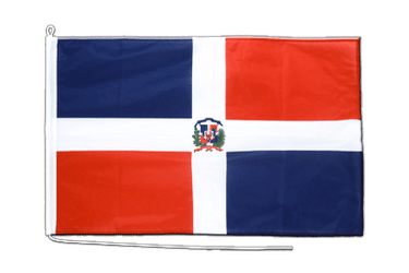 Dominican Republic Boat Flag PRO 2x3 ft