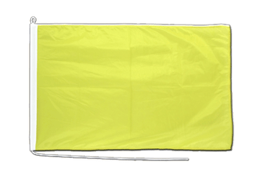 Yellow Boat Flag PRO 2x3 ft