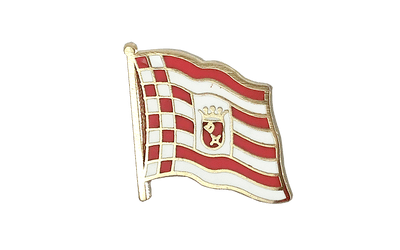 Bremen Flag Lapel Pin