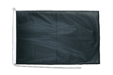 Black Boat Flag PRO 2x3 ft