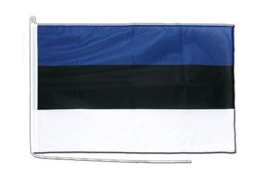 Estonia Boat Flag PRO 2x3 ft