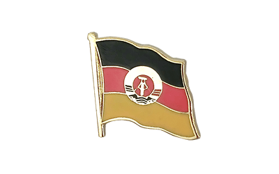 GDR Flag Lapel Pin