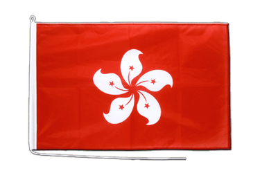 Hong Kong  Boat Flag PRO 2x3 ft
