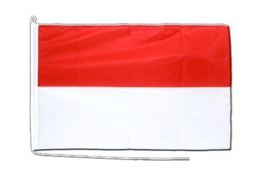 Indonesia Boat Flag PRO 2x3 ft
