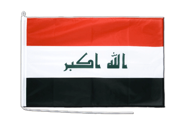 Iraq 2009  Boat Flag PRO 2x3 ft