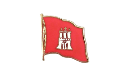 Hamburg Flag Lapel Pin