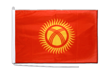 Kyrgyzstan Boat Flag PRO 2x3 ft
