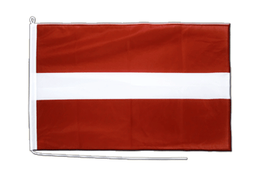 Latvia Boat Flag PRO 2x3 ft